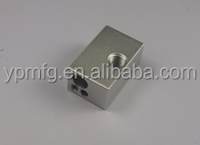 Hot sales aluminum block machining anodized 3d printer for metal parts