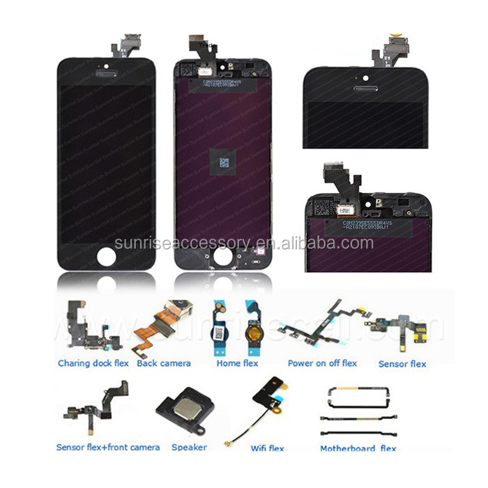 Guangzhou Paypal Original For Iphone Repair Parts,Replacement Parts For iPhone 5 Parts