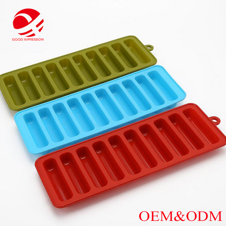 100% silicone material Pop Mold Silicone Ice Tray with high quality
