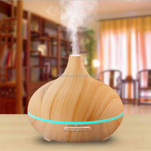 2016 factory wholesale 300ml color ultrasonic essential oil wooden aroma diffuser