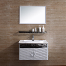 New products modern furniture bathroom vanity on bathroom wall 080