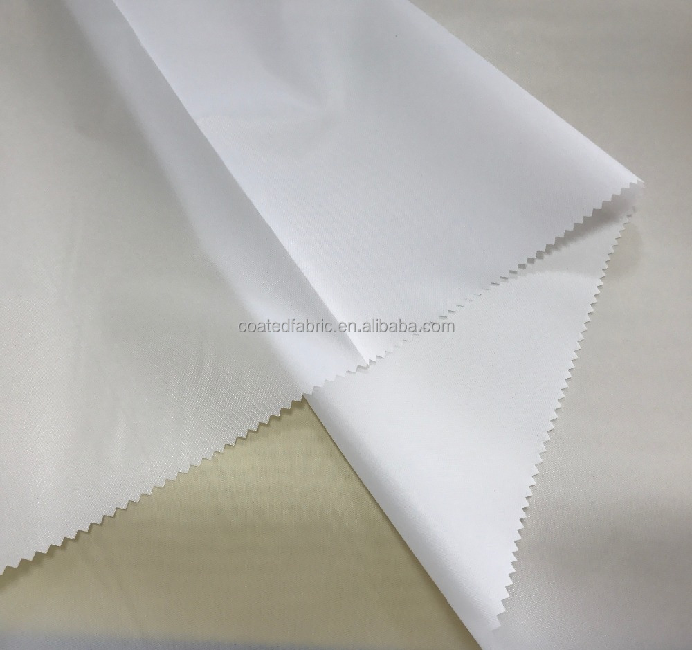 waterproof 100% polyester dyed taffeta fabric