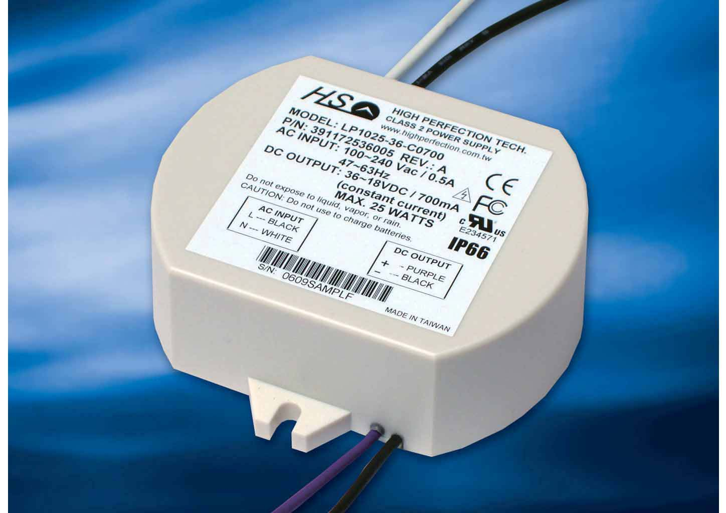 25w Waterproof LED Driver (Switch Power Supply)