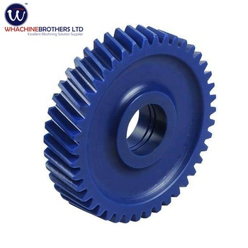 OEM&ODM Differential nylon plastic helical toothed gear with Great Price made by WhachineBrothers ltd.