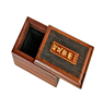 Brown Wood Material Packing Box for Health Care Product