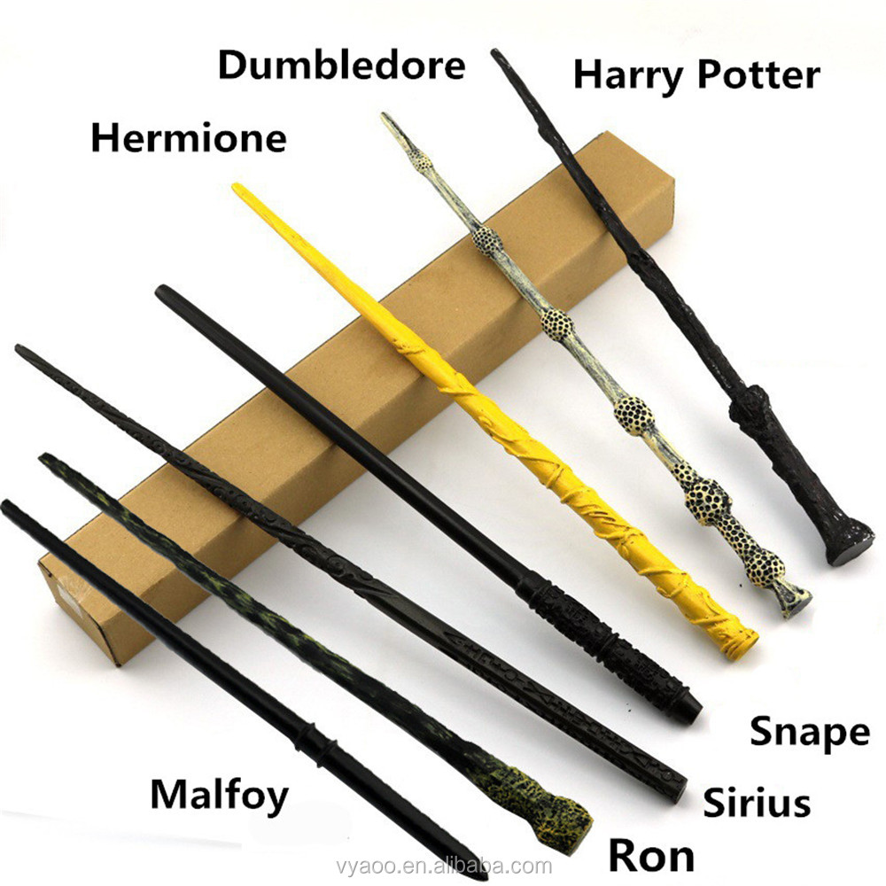 2017 Hot Sale halloween decorations harry potter wand The box Package Harry Potter Cosplay Magic Wand