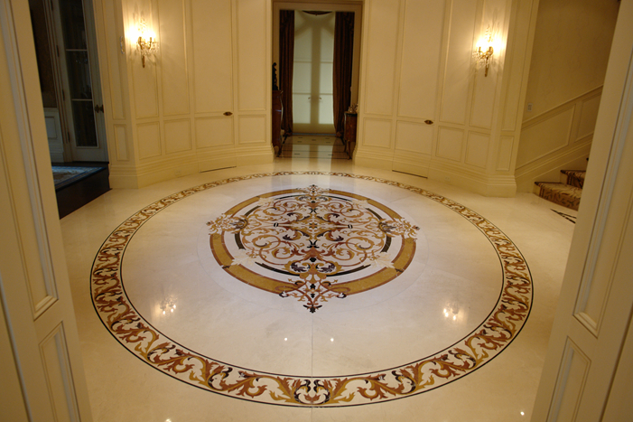 2014 Pfm Hot Sale Natural Marble Medallion Celling Buy