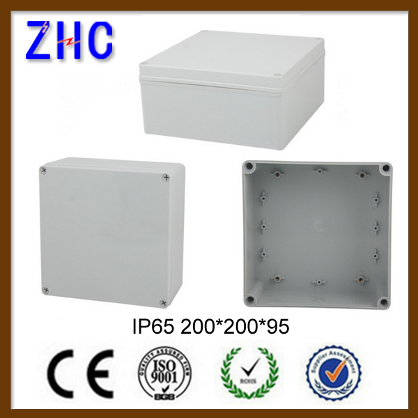 200*200*95 Junction Box UK ABS waterproof IP65 Plastic Electrical Enclosures