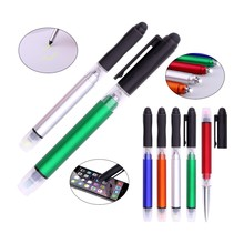 Multi-color Alibaba.com Stylus Highlighter Pen New Premium Plastic Ball Pen Making Machine With LED Light