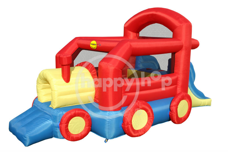happyhop Inflatable train bouncer-9054 Bouncy Train