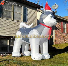 Christmas Yard Decorations Inflatable Husky/ Inflatable Dogs