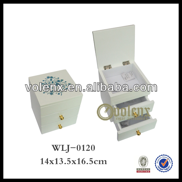 Magnet Closure and Cute Bow Design Jewelry Box Making Supplies(BV&SGS)