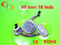 high quality Cabochon funfair 60mm led amusement light 24v