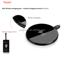 Good quality Universal Ultra thin qi wireless charger mat Charging Pad