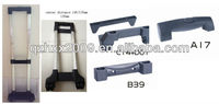 Functional luggage telescopic trolley handle parts for bag