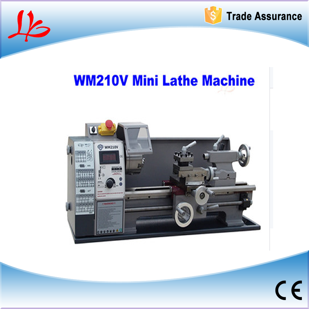 600W Mini lathe used WM210V,stepless speed regulation
