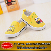 2015 new baby shoes boys and girl cartoon pattern shoes baby canvas shoes