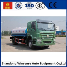 Sinotruk Howo 4*2 9cbm 3000 gallon Carbon Steel fuel tank truck for sale