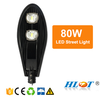 Hot factory 80w led solar street light all in one photocell