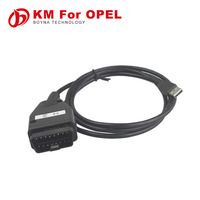 2015 Professional car mileage reduce Mileage Programmer Tool OPEL km cable mileage correction kit