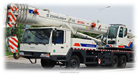 new model QY35V542/zoomlion 35t mobile truck crane