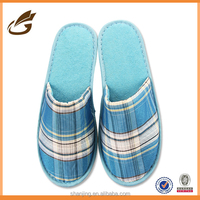 Colorful Fancy Lady's plaid Indoor Floor famale Shoes