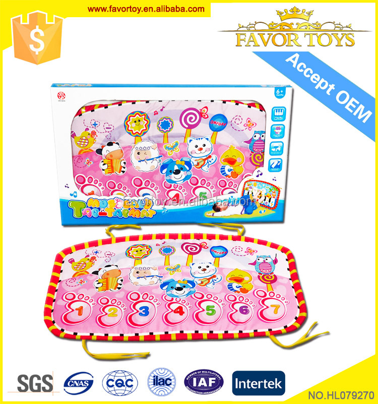 Colorful cheap high quality safe learning playing mat for kids