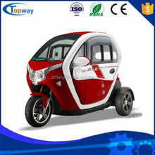 1000W72V50AH Electrical Trike Tricycle 3 wheel Car for 2 Passengers