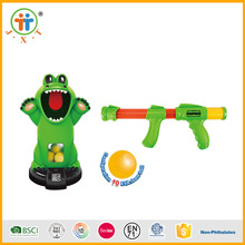 Newest crocodile plastic EVA balls electric soft bullet gun toy for kids