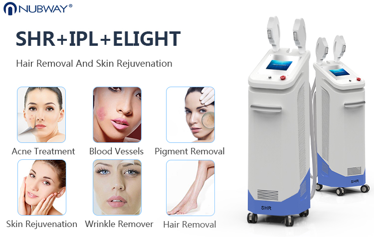 fda approved beauty equipment Germany oxenon lamp e-light ipl laser machine