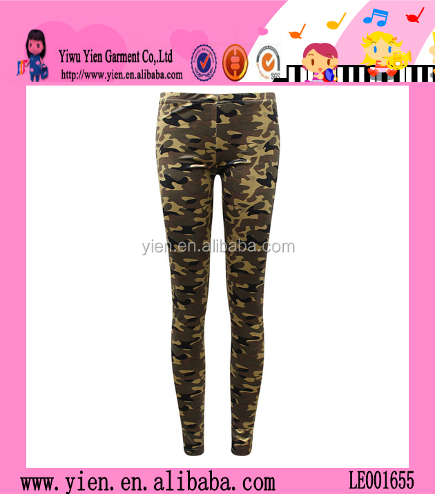 Hot Sale Fashion Camo Pants Wholesale Highly Stretch Women Sexy Tight Leggings