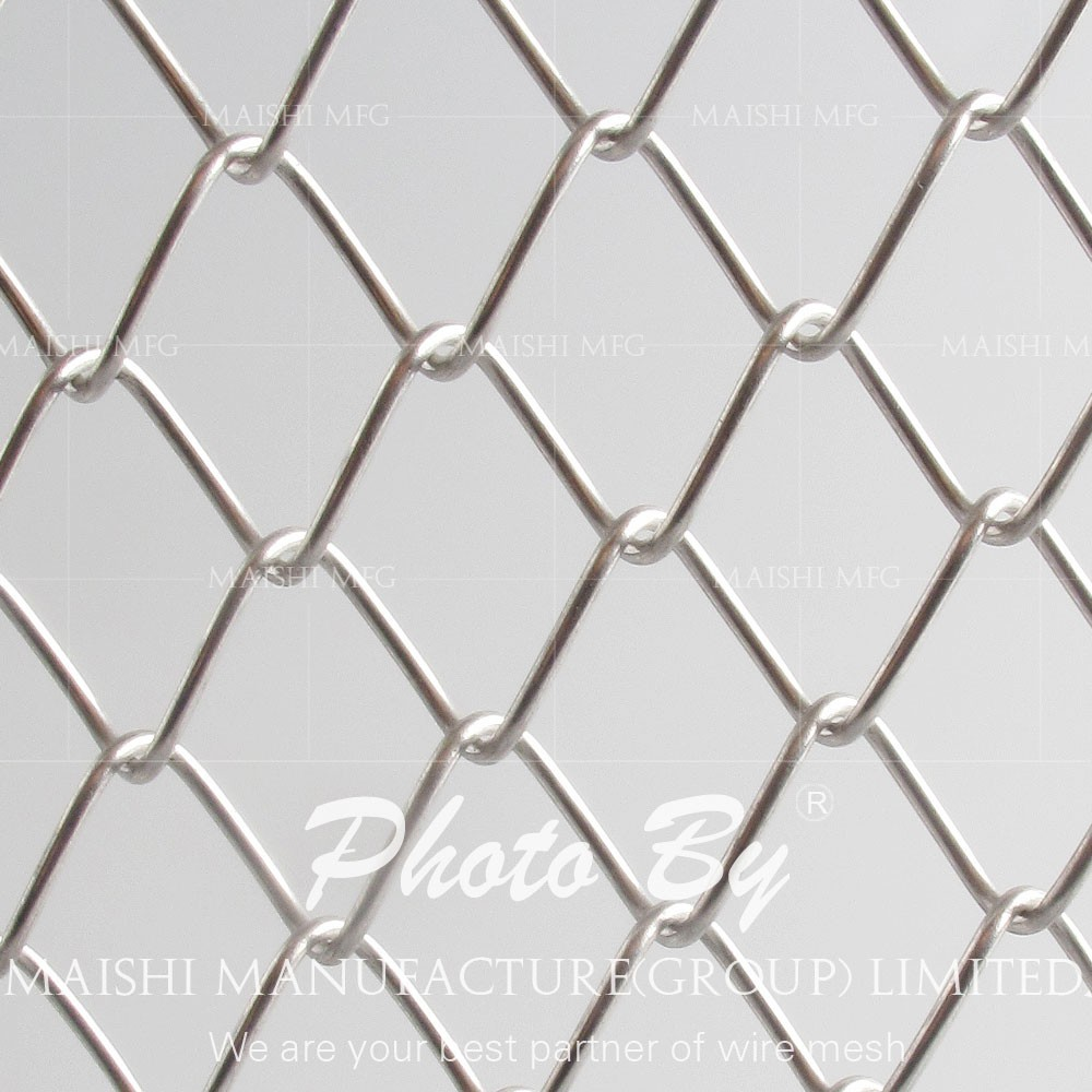 4ftx50ft Galvanized Steel Chain Link Fabric