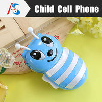 China OEM Gift phones blue kids bee mobile phone low price