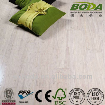 Lime Wire Brushed Strand Woven Bamboo Flooring suelo de bamboo