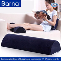 Factory Direct Memory Foam Half Cylinder Foot Pillow,foot relax cushion