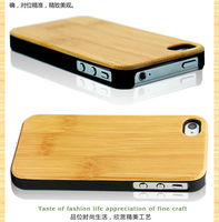 Strong Wood Plasic Material Factory Directly Case For IPhone 5
