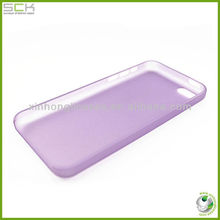 0.3mm Ultra Thin Soft Matte PP Crystal Case cover Multiple Colors For iPhone 5c for iphone mini