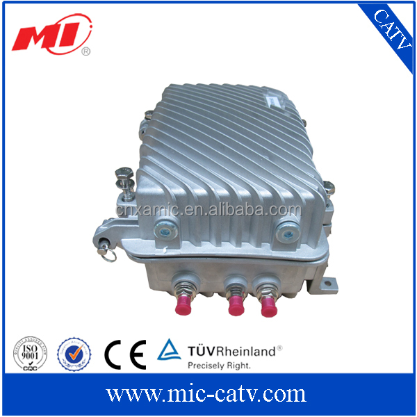 1000MHz CATV outdoor AGC optical receiver, optical node, optical receiver and transmitter