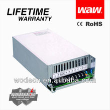 24v 20a 500w AC/DC power supply with CE ROHS certificates