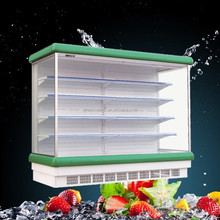 Hot selling cold drink refrigerator / supermarket vegetable and fruit chiller refrigerator