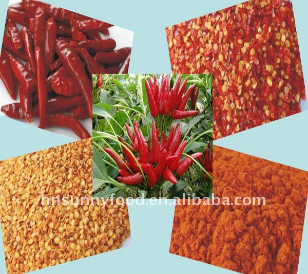 Red crushed chilli