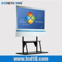 47 inch all in one pc interactive touch digital signage kiosk with stand