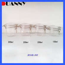 WHOLESALE 120ML 150ML 200ML PET KILNER JAR FOR COSMETIC PACKAGING