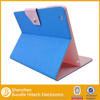 Couple colors perfect match cute case for ipad min , leather case for ipad mini 2