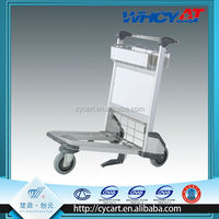3 wheel aluminum alloy airport luggage trolley