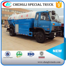 Dongfeng 4x2 Sewage(Fecal) Tanker Truck Toilet Sucker Truck With High Pressure Cleaning Manufacturer