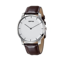SPOVAN <strong>smart</strong> quartz <strong>watch</strong> unisex with genuine leather strap