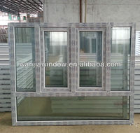 Cheap house windows for sale Best quality upvc windows doors
