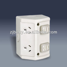IP53 Waterproof Surface Switched Socket Outlet