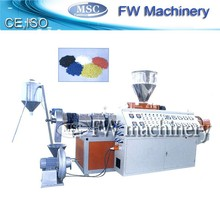 hot sale pvc recycled granulating line plastic hout cutting pelleting equipment plastic granules making machine